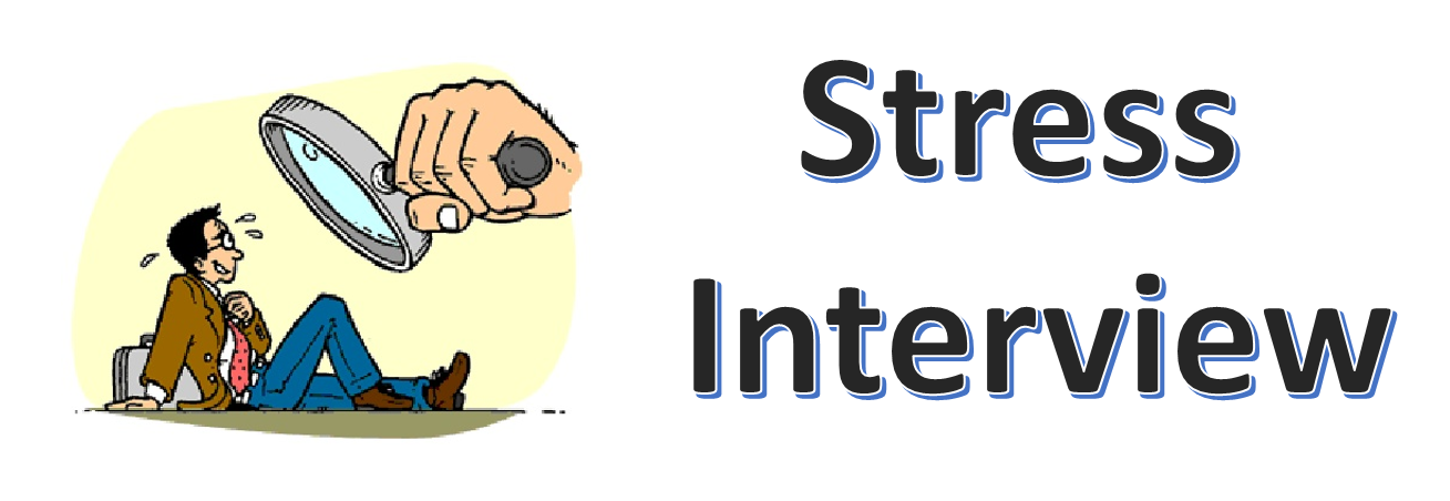 stress interview Stress management for presentations and interviews  anxiety or stress about an event,  for guidance on interview technique,.