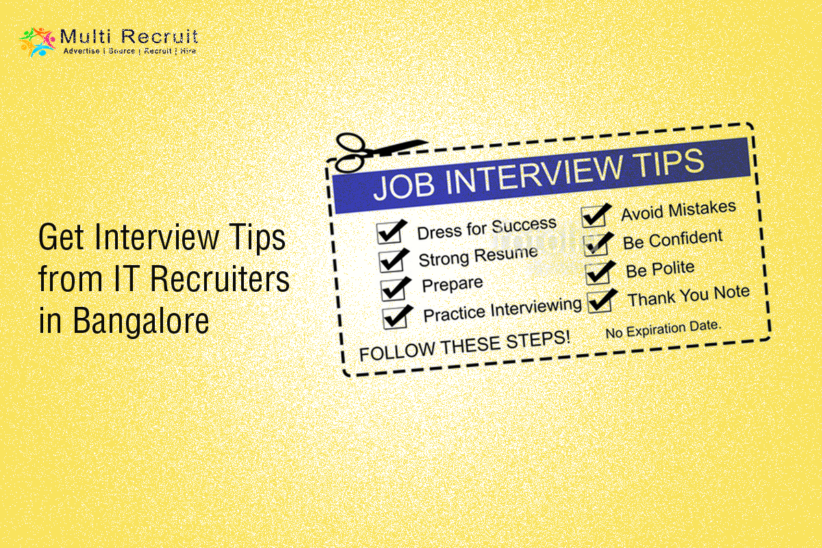 Get Interview Tips from IT Recruiters in Bangalore